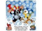 Albatros Knížka leporelo - Krtek a zima 2