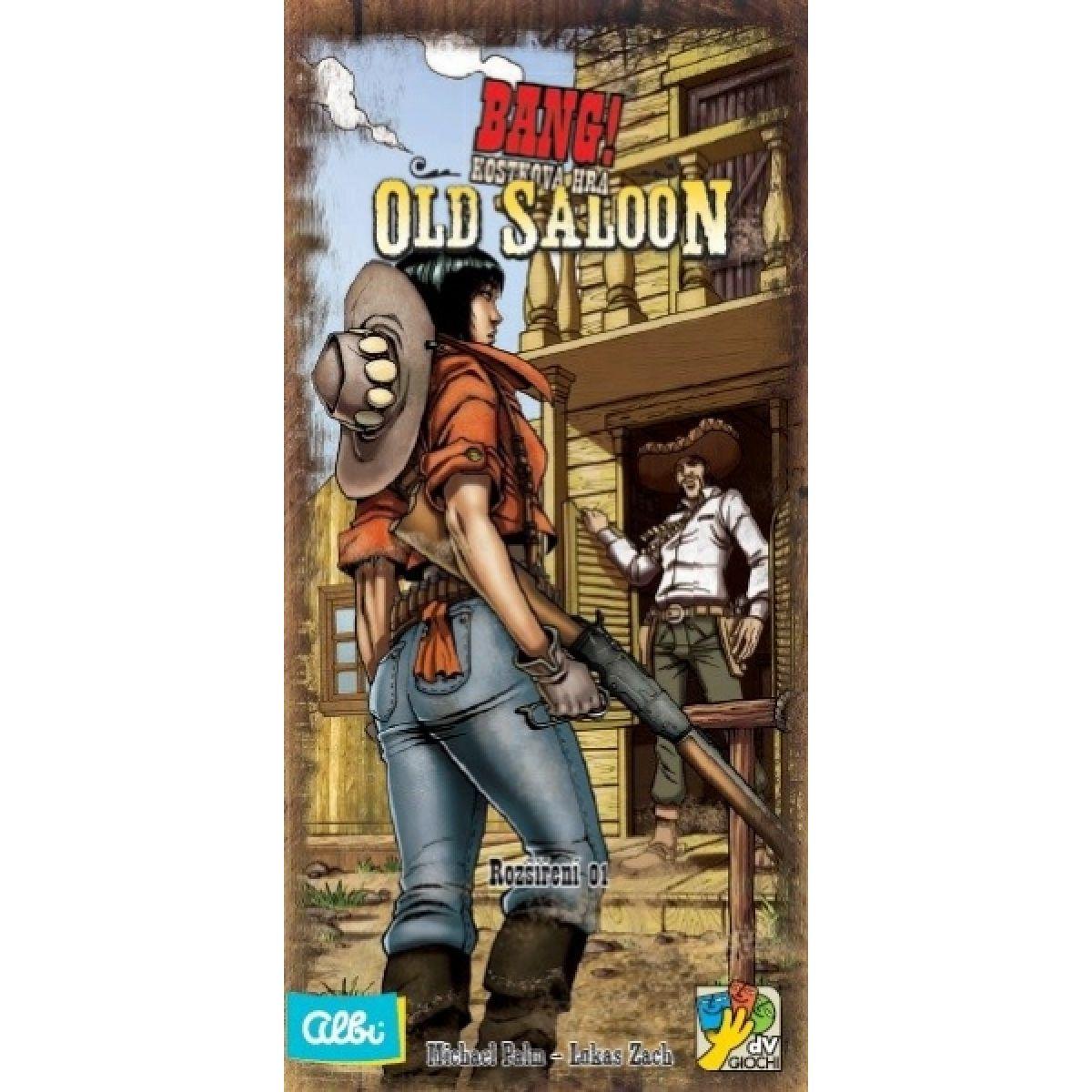 Albi Bang kostky rozšíření - Old Saloon #2