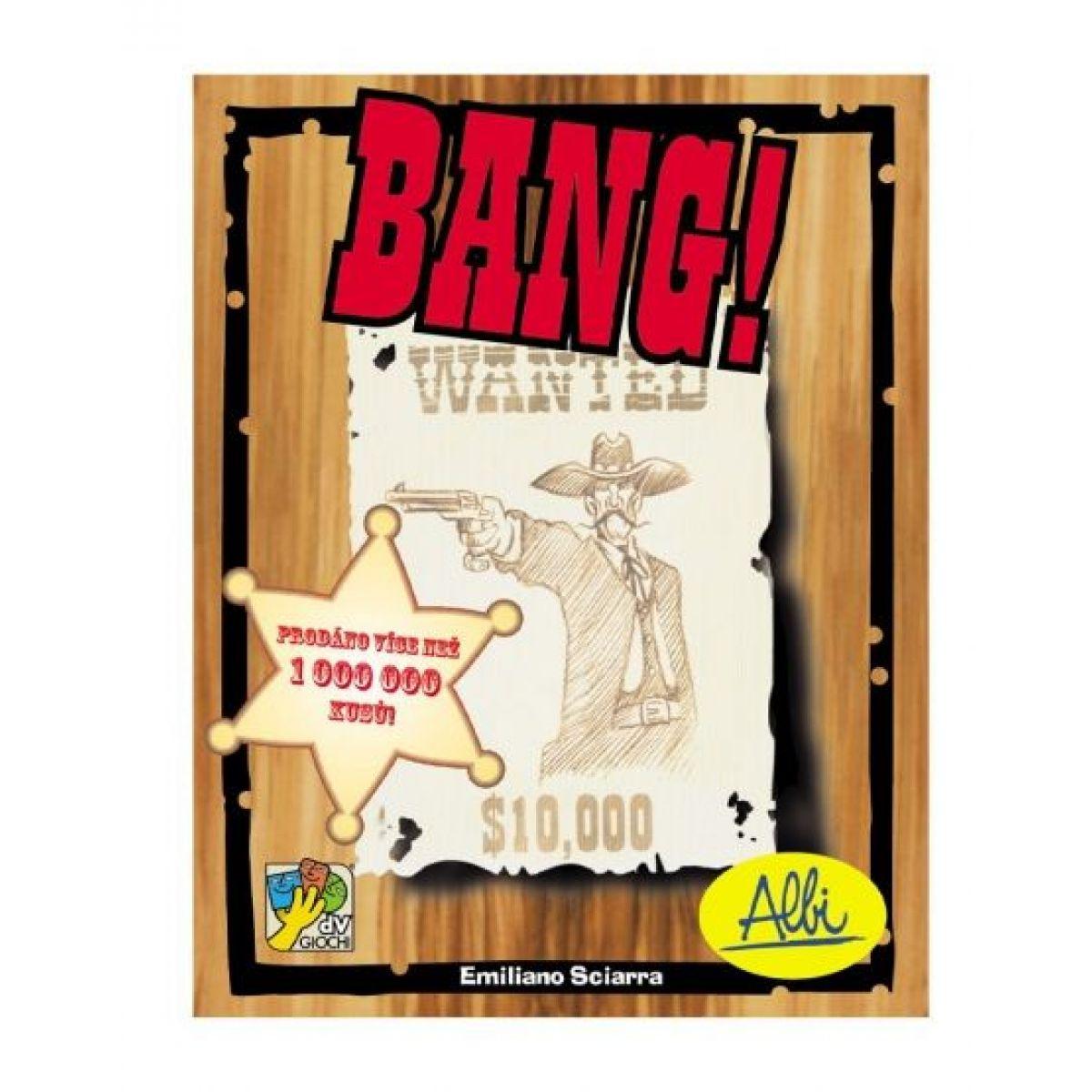 Albi Bang! společenská hra