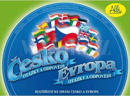 Albi Česko a Evropa rozšíření karet