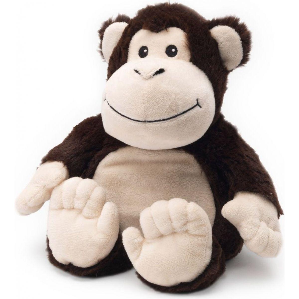 Albi Hřejivá plyšová zvířátka - Opička 30 cm