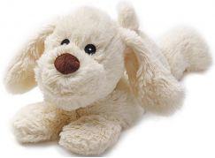 Albi Hřejivá plyšová zvířátka Psík bílý