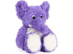 Albi Hřejivá plyšová zvířátka Slon fialový
