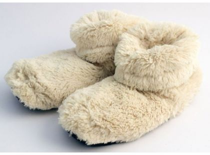 Albi Hřejivé botičky - Béžové