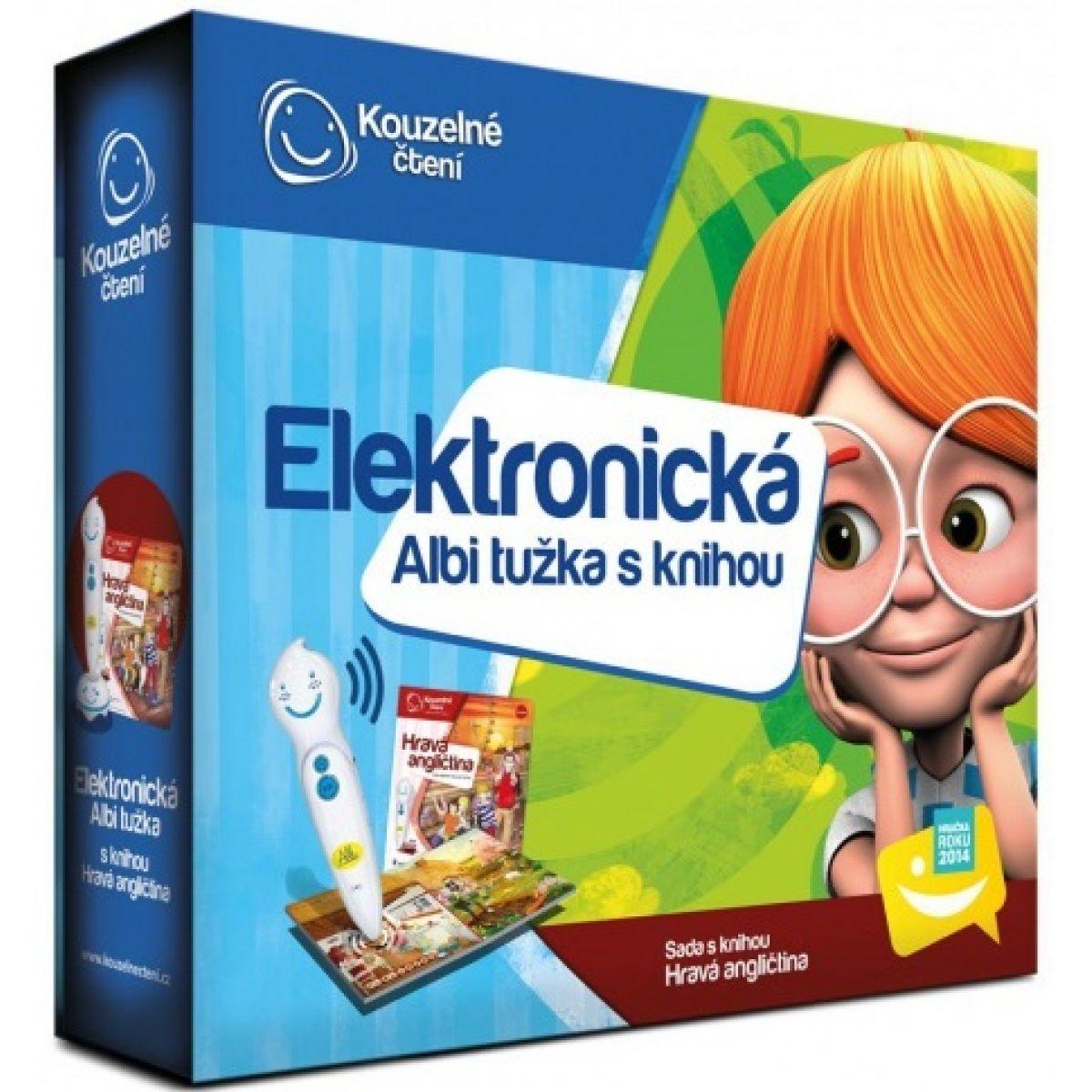 Albi Kouzelné čtení Elektronická tužka a kniha Hravá angličtina