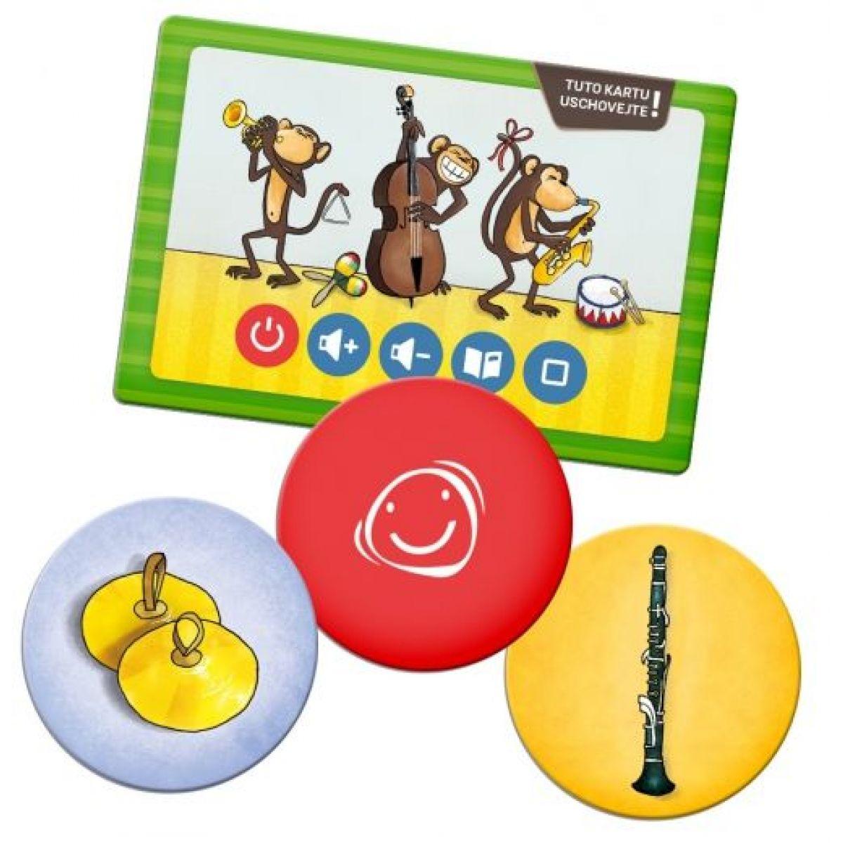 Albi Kouzelné čtení Hra Pexeso Hudební nástroje #3