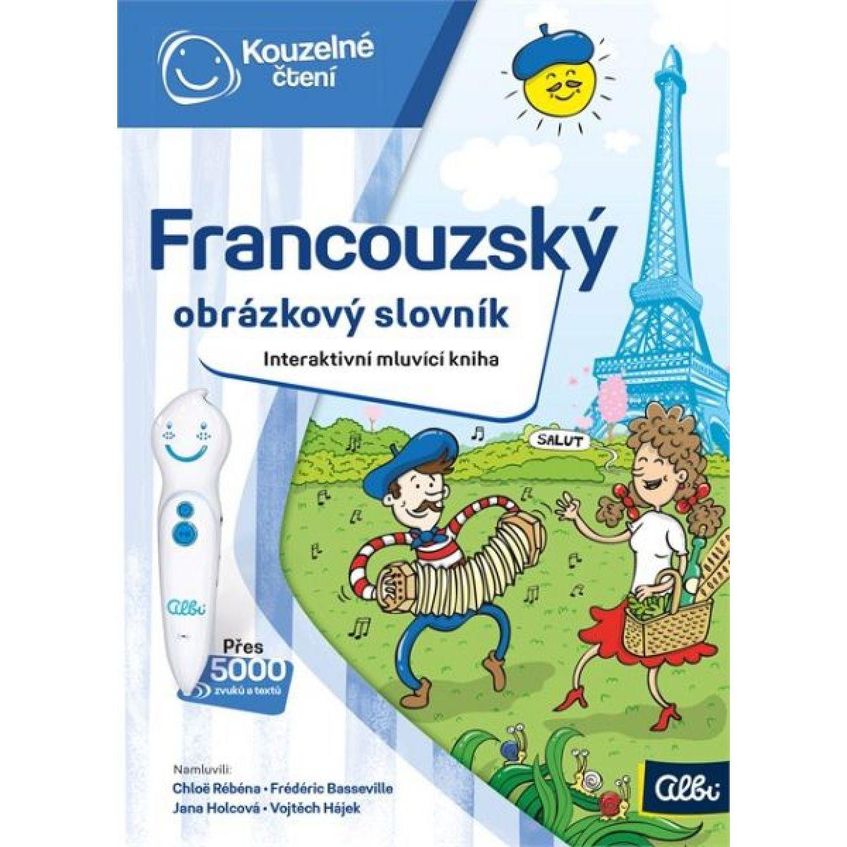 Albi Kouzelné čtení Kniha Francouzský obr. slovník