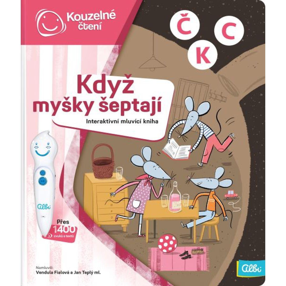 Albi Kouzelné čtení Kniha Když myšky šeptají