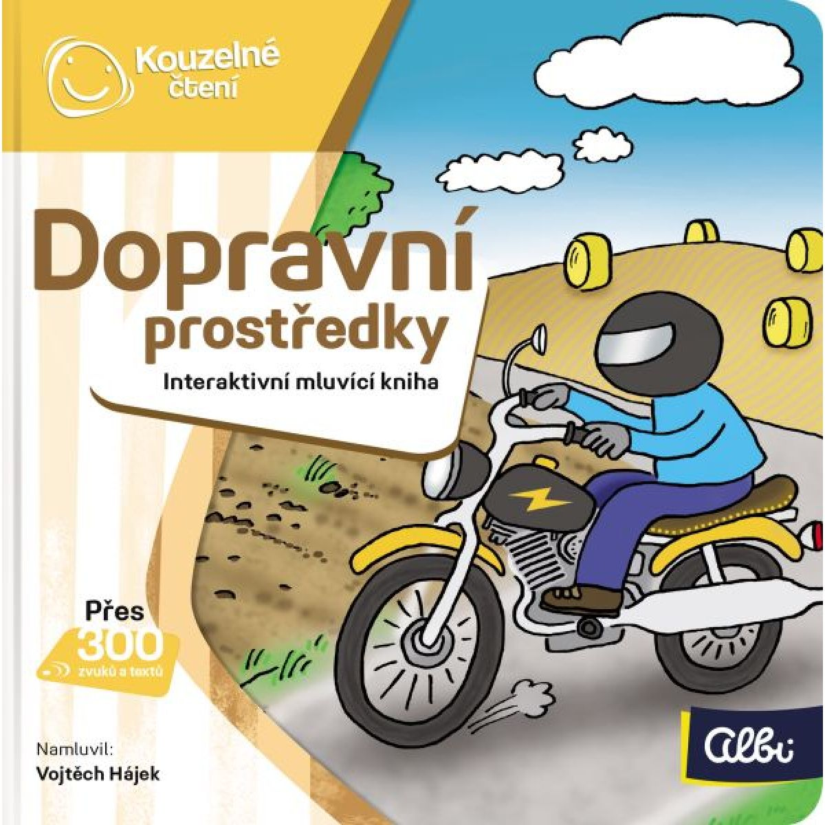 Albi Kouzelné čtení Minikniha Dopravní prostředky