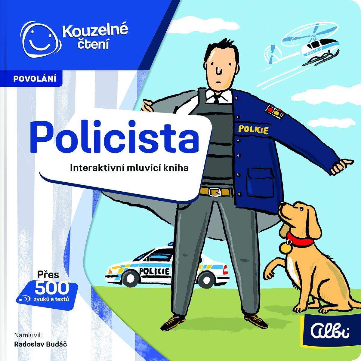 Albi Kouzelné čtení Minikniha povolání - Policista