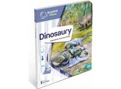 Albi Kúzelné čítanie Kniha Dinosaury SK