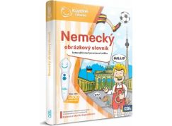 Albi Kúzelné čítanie Kniha Nemecký obrázkový slovník SK