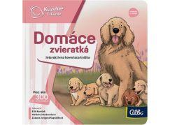Albi Kúzelné čítanie Minikniha domáce zvieratká SK