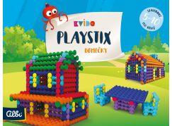 Albi Kvído Stavebnice Playstix domečky