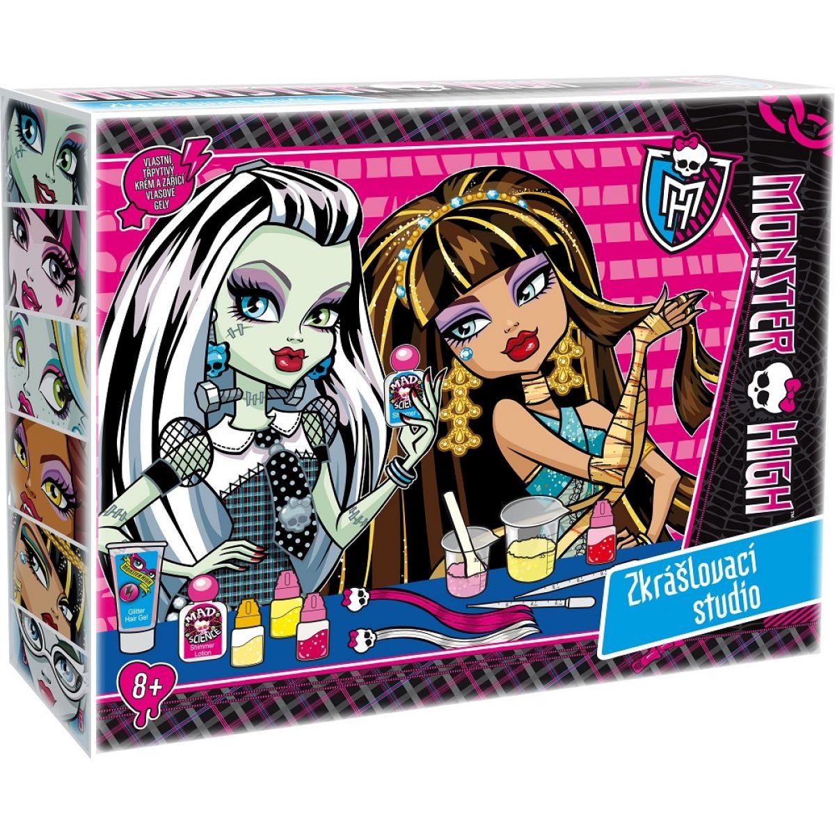 Albi Monster High Zkrášlovací studio