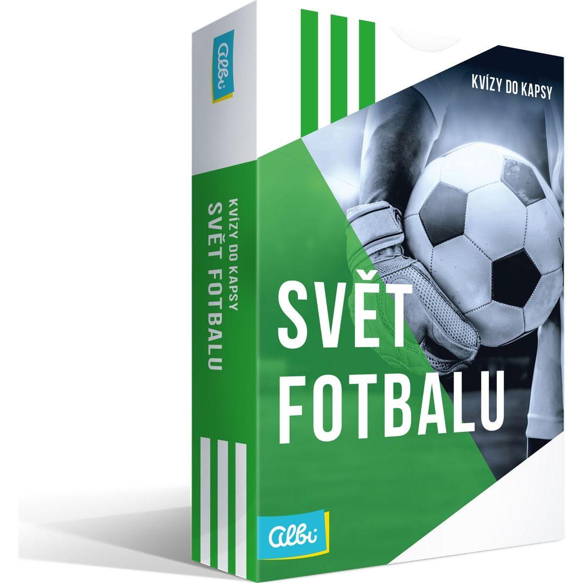 Albi Nové Kvízy do kapsy Svět fotbalu
