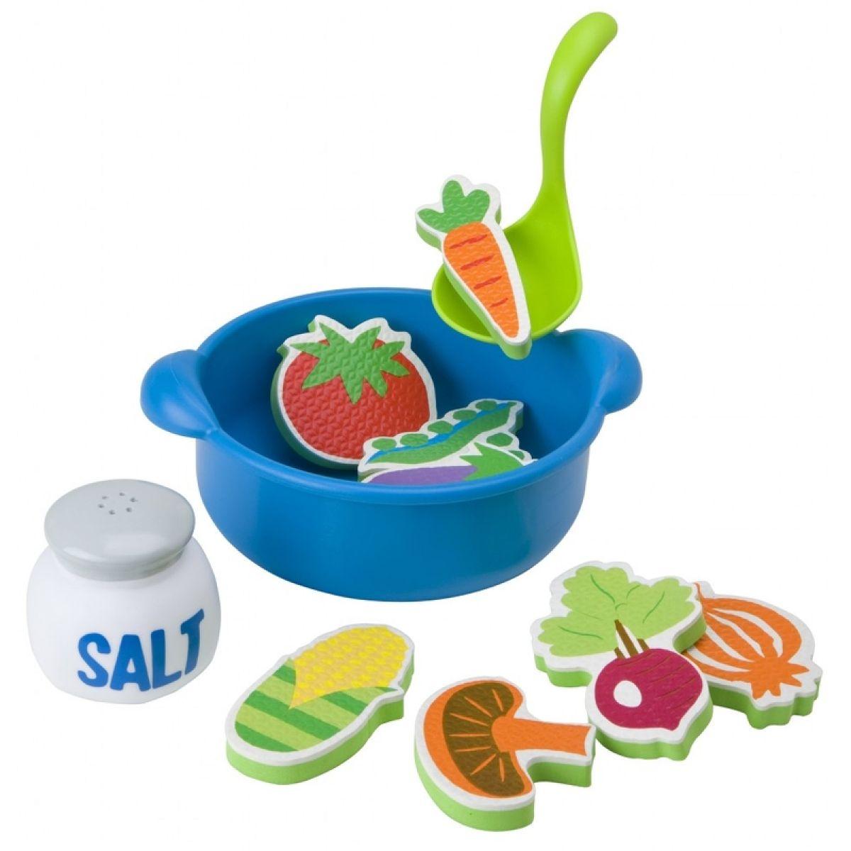 Alex Uvař si polévku - pěnová hračka do vany