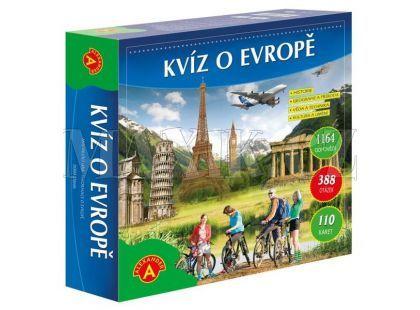 Alexander Kvíz o Evropě společenská hra