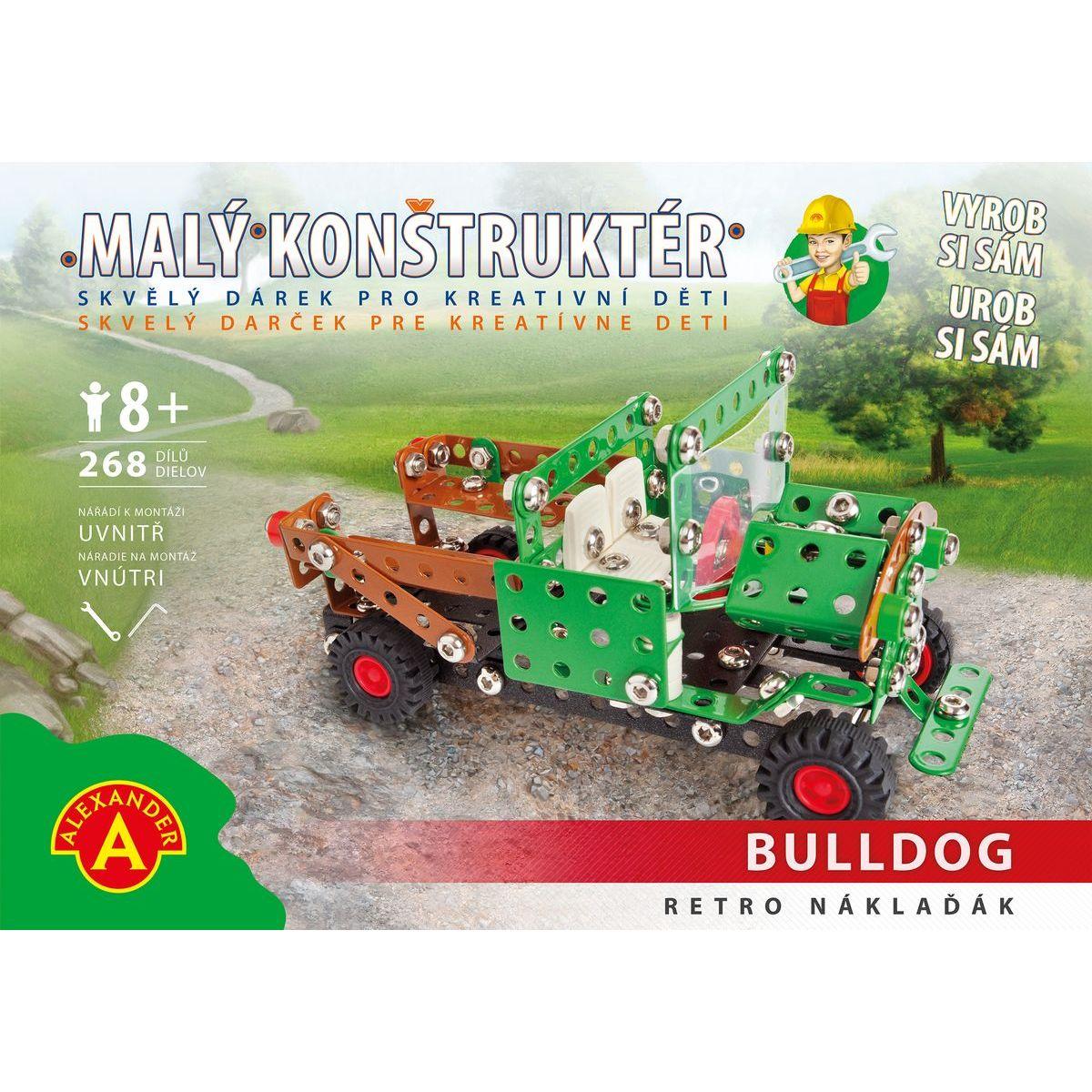 Alexander Malý konstruktér Buldog Retro náklaďák
