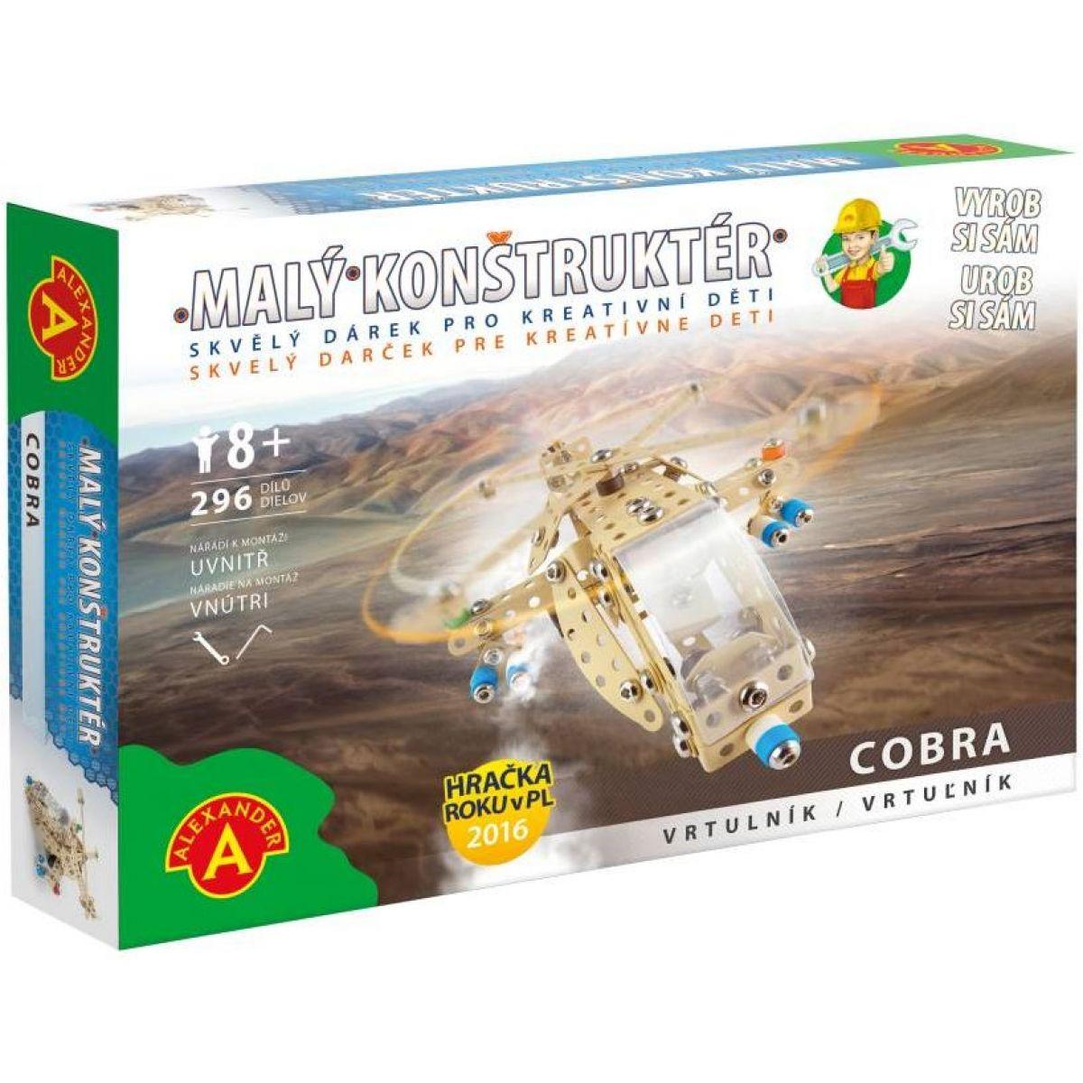 Alexander Malý konstruktér Cobra Vrtulník