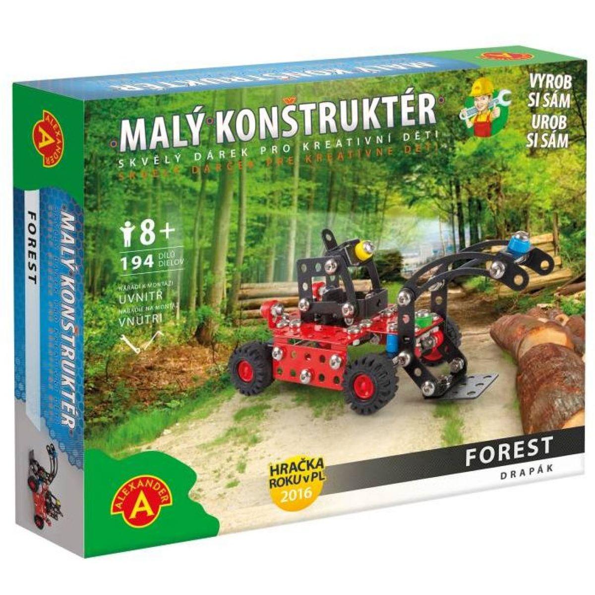 Alexander Malý konstruktér Forest Drapák