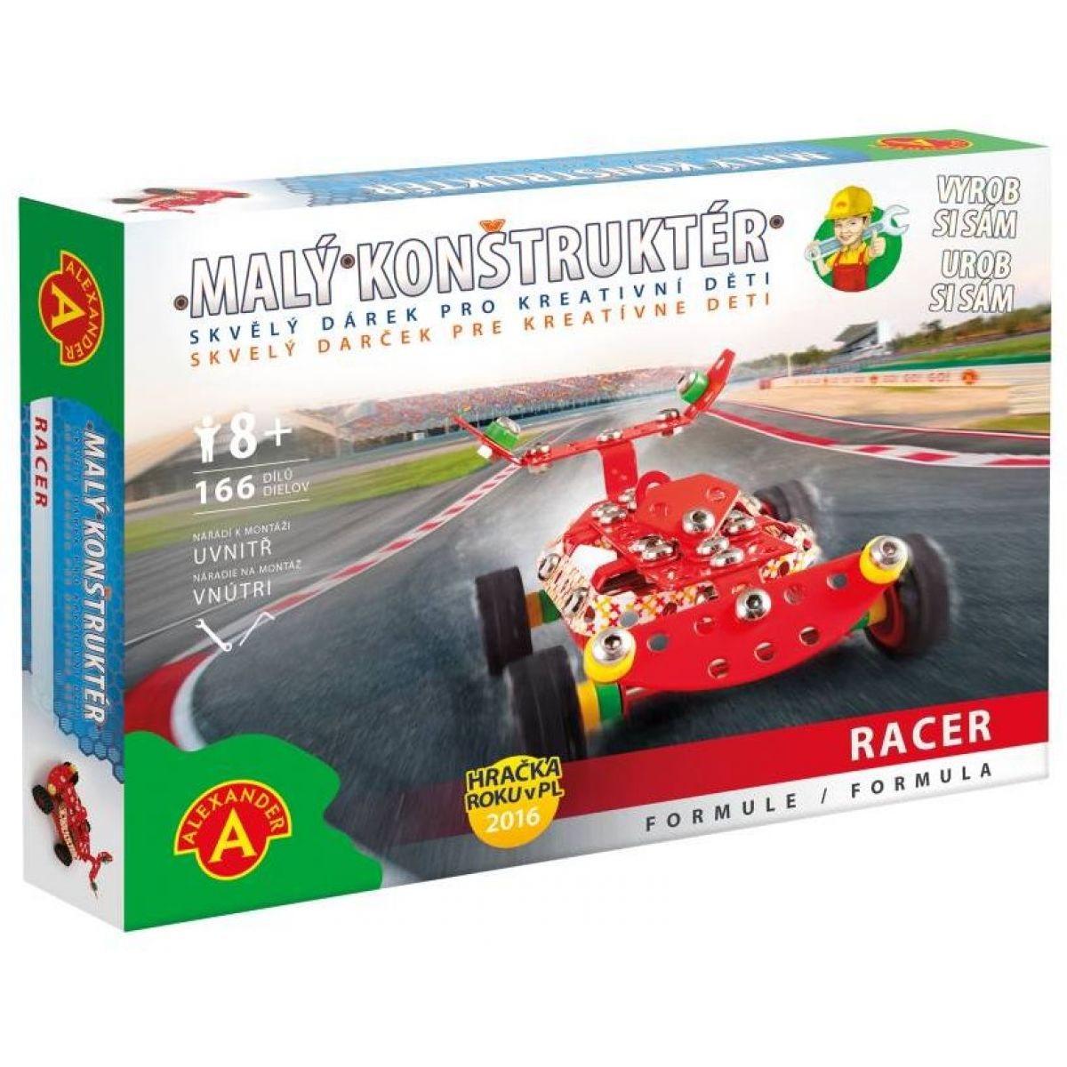 Alexander Malý konstruktér Formule Racer