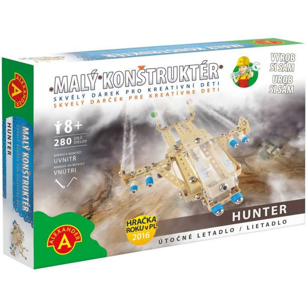 Alexander Malý konstruktér Hunter Útočný letoun