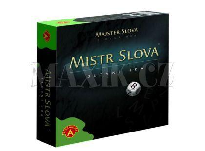 Alexander Mistr Slova, slovní hra s kostkami