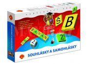 Alexander Samohlásky a souhlásky společenská hra vzdělávací