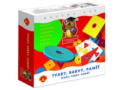 Alexander Tvary, barvy, paměť společenská hra naučná