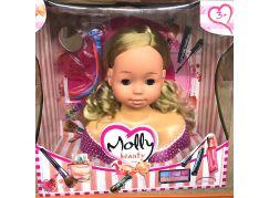 Alltoys Česací hlava Bambolina Molly