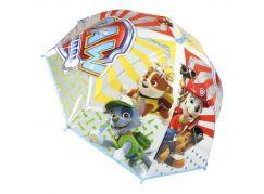 Alltoys Deštník dětský Tlapková patrola modro bílý