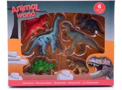 Alltoys Dinosauři v boxu 6ks