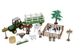 Alltoys Farmářský set v kufříku valník