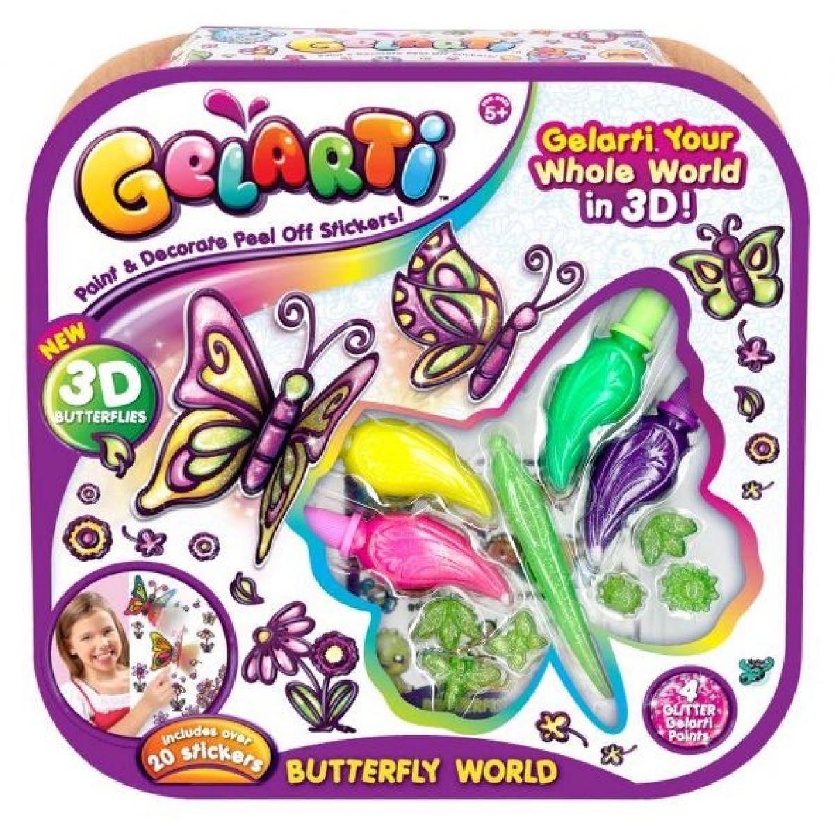Alltoys Gelarti aktivity Motýlí svět