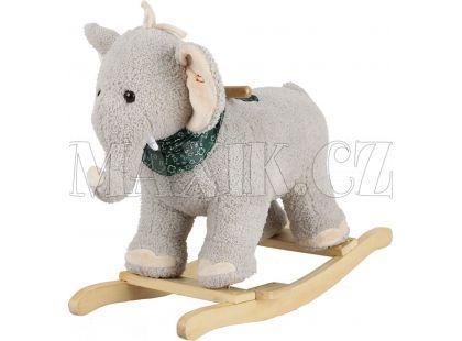Alltoys Houpací slon šedý