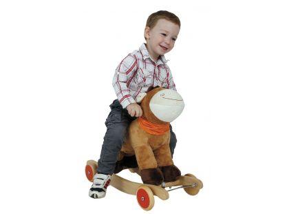 Alltoys Houpací poník s kolečky