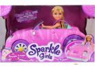 Alltoys Panenka Sparkle Girlz v autíčku 2