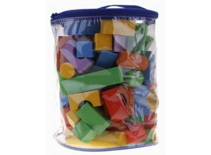 Alltoys Pěnové kostky barevné 100 ks