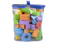 Alltoys Pěnové kostky barevné 50 ks