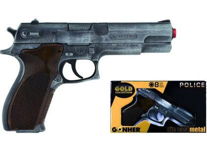Alltoys Policejní pistole Gold