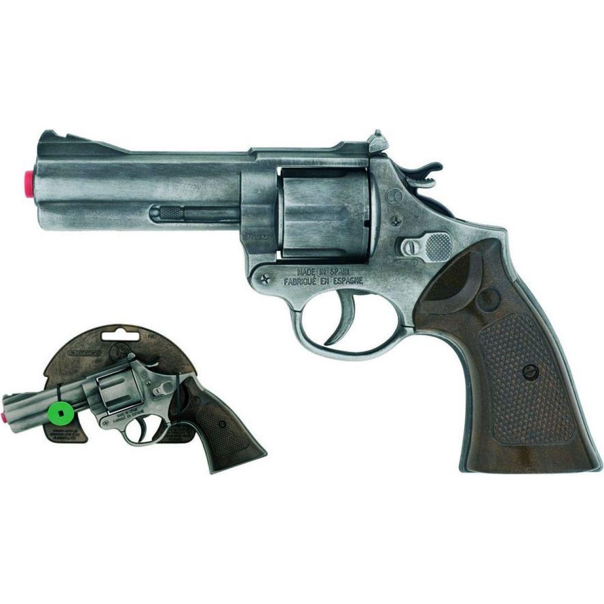 Alltoys Policejní revolver Gold Collection