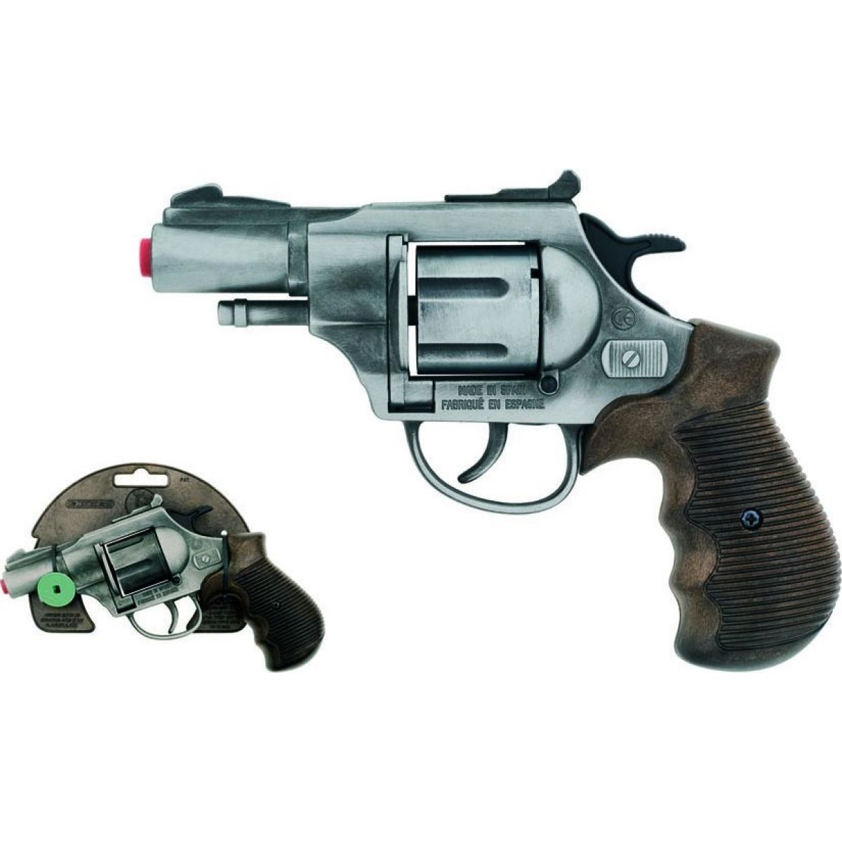 Alltoys Policejní revolver Gold 12 ran