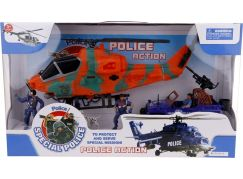 Alltoys Policejní set s helikoptérou - Poškozený obal
