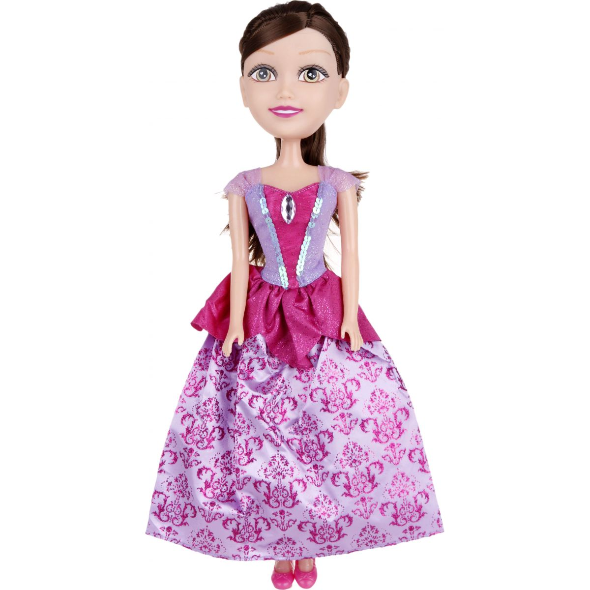 Alltoys Princezna 50 cm Sparkle Girlz - Fialově - růžové šaty