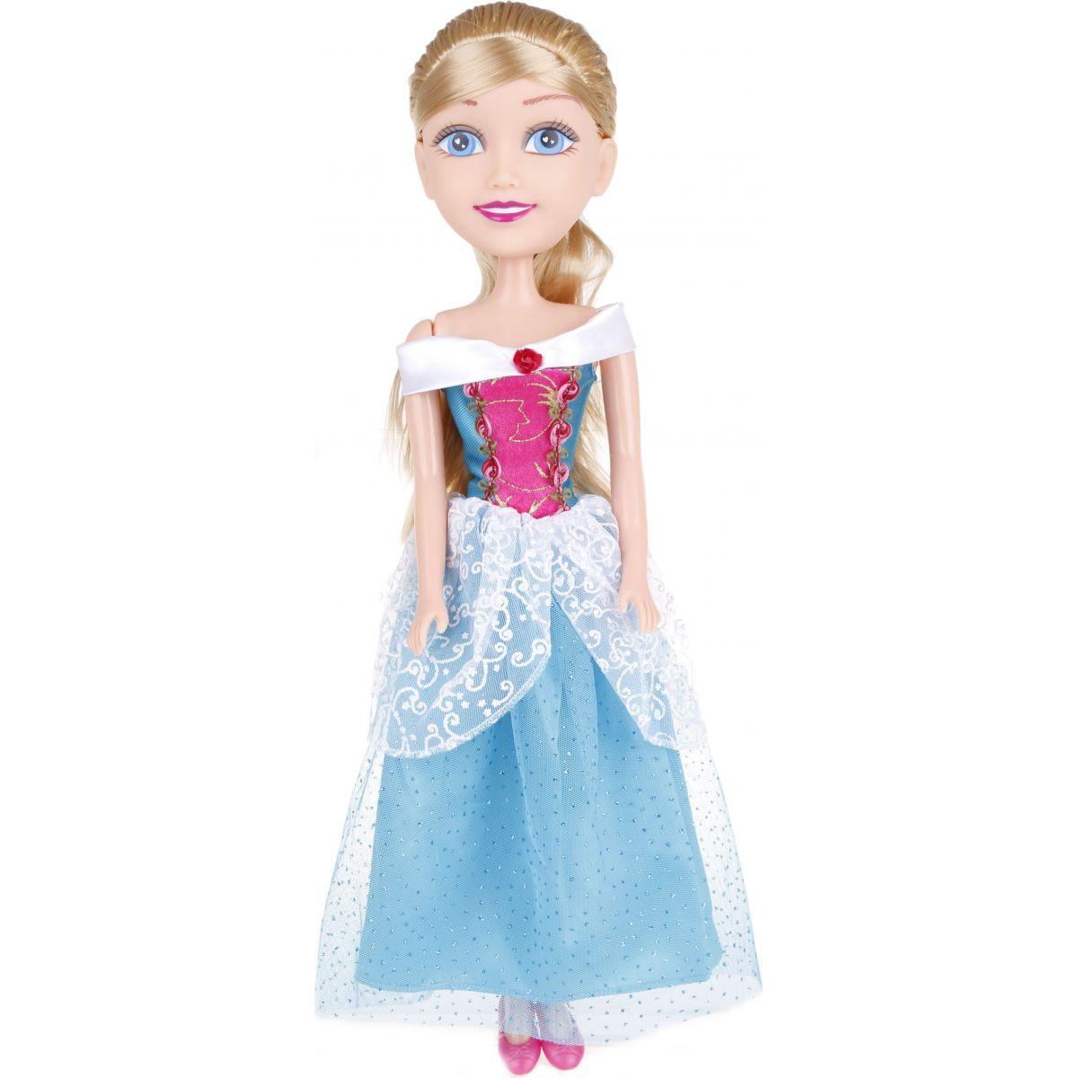Alltoys Princezna 50 cm Sparkle Girlz - Zelené - kytička šaty