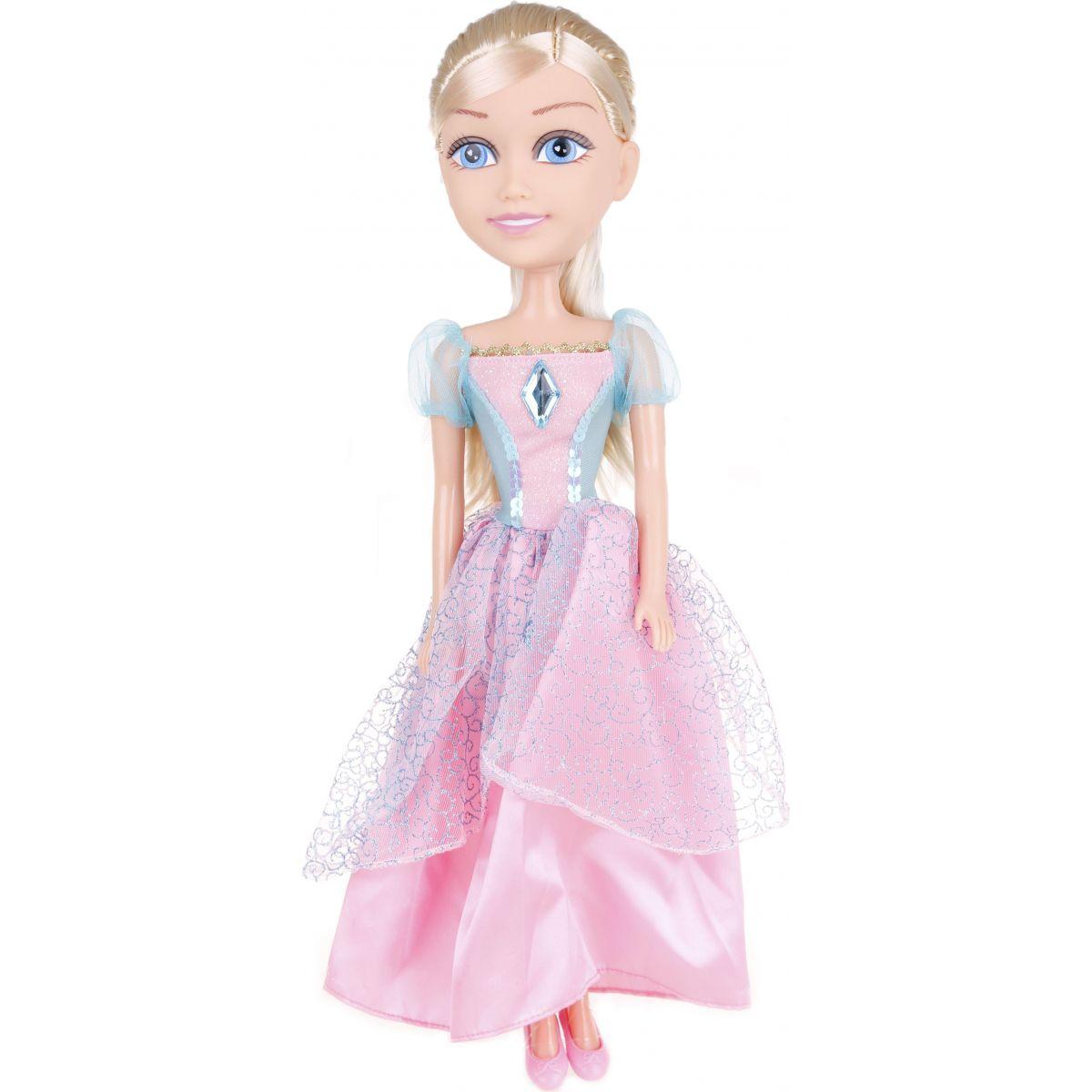 Alltoys Princezna 50 cm Sparkle Girlz - Zeleno - růžové šaty