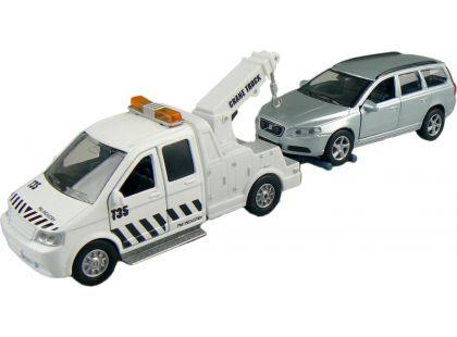 Alltoys Teamsterz Odtahovka - Stříbrné auto