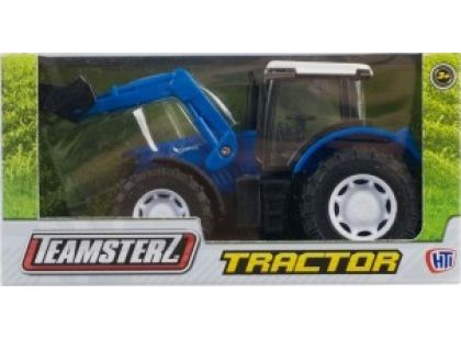 Alltoys Teamsterz Traktor - Modrá