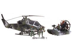 Alltoys Vojenský set s helikoptérou